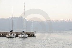 Sailboats At The Garda Lake In Italy Stock Photo - Image: 10231960