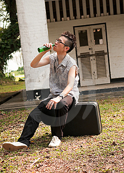 Drinking Away Your Sorrows Stock Photography - Image: 10233822