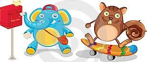 Cartoon Stock Image - Image: 10234371
