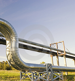 Industrial Pipelines Royalty Free Stock Photo - Image: 10235985