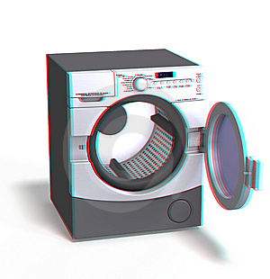 This Is An Anaglyph Image / Stereo Rendering Of A Stock Image - Image: 10238151
