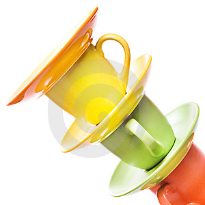 Color Cups Stock Images - Image: 10238644