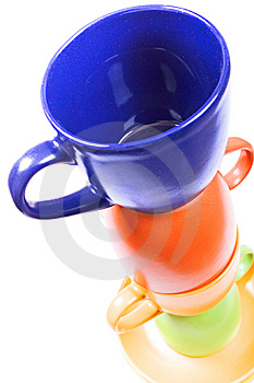 Color Cups Stock Photos - Image: 10238733