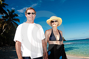 Happy Couple On Vacation Stock Photos - Image: 10238953