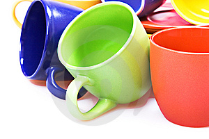 Color Cups Stock Photos - Image: 10239513