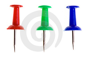 Push Pin Collection Stock Images - Image: 10240164