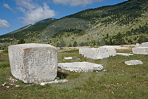 Medieval Monuments Stock Image - Image: 10241031