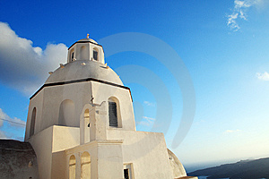 Whitewash Church Royalty Free Stock Photography - Image: 10243787