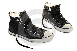 Sneakers Royalty Free Stock Image - Image: 10246556