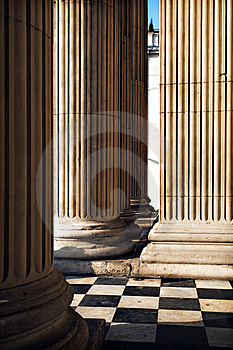 Columns St Pauls Cathedral Royalty Free Stock Photo - Image: 10246865