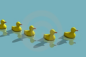 Duck Family Stock Photography - Image: 10247262