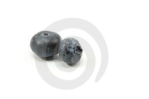 Two Blueberries Stock Images - Image: 10248574