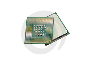 Central Processor Royalty Free Stock Photography - Image: 10249927