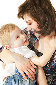 Mother And Son Stock Photo - Image: 10254070