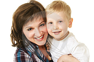 Mother And Son Royalty Free Stock Image - Image: 10254096