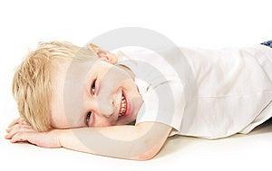 Laughing Little Boy Stock Image - Image: 10254151