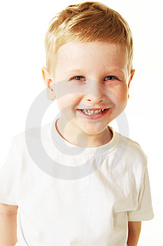 Laughing Little Boy Royalty Free Stock Photo - Image: 10254185