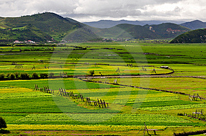Shangri-La Ranch Scenery Stock Images - Image: 10257054