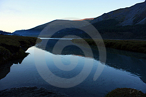Lake And Mountains Stock Images - Image: 10258214
