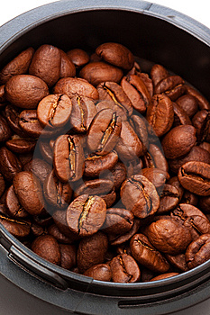 Coffee Beans Royalty Free Stock Images - Image: 10259459