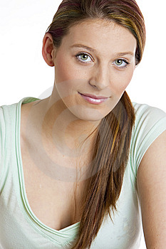 Woman's Portrait Royalty Free Stock Photography - Image: 10260717