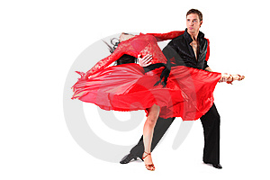 Dancer In Action Royalty Free Stock Images - Image: 10260839