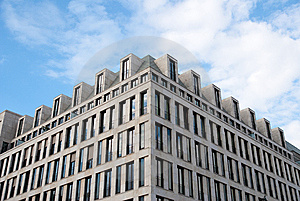 Modern Building Exterior Stock Image - Image: 10261411