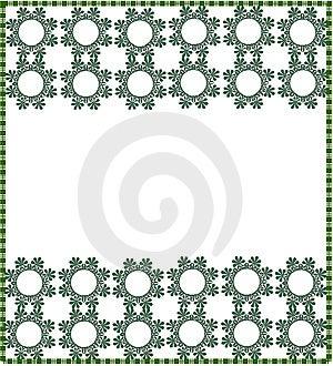 Floral Border/frame Stock Image - Image: 10261531