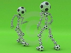 Fußballkampf Stockfotos - Bild: 10264583