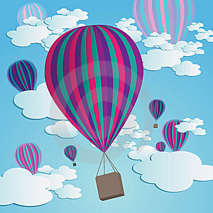 Hot Air Balloons Royalty Free Stock Photos - Image: 10264608