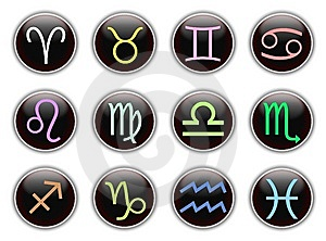 Zodiac Signs Stock Photos - Image: 10268993