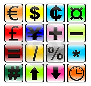 Business Icon Set Vector Royalty Free Stock Image - Image: 10269866