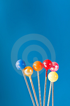 Pins Royalty Free Stock Photos - Image: 10271008