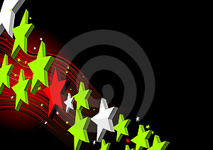 Star Background Vector Stock Photo - Image: 10271940