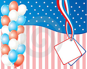 American Independence Day Card Royalty Free Stock Photo - Image: 10272025