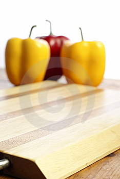 Wooden Chopping Board Royalty Free Stock Image - Image: 10272436