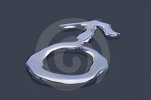 Male Gender Symbol Stock Photo - Image: 10273510