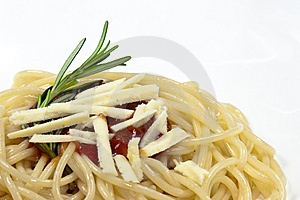 Spaghetti With Tomato Sauce Royalty Free Stock Image - Image: 10274456