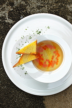 Consume Soup Stock Image - Image: 10274611