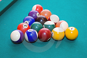 Billiard Balls Stock Photos - Image: 10275593