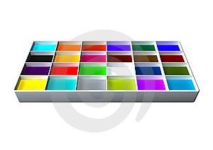 Palette Stock Image - Image: 10280641