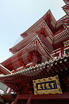 The Buddha Tooth Relic Temple And Museum Situated Royalty Free Stock Images - Image: 10281649