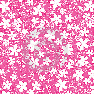 Abstract Flowers Background Stock Images - Image: 10284264