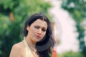 Blue-eyed Girl Stock Photo - Image: 10284340