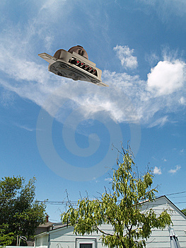 UFO Scout Stock Photography - Image: 10284422