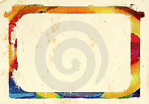 Colorful Border Stock Image - Image: 10285601
