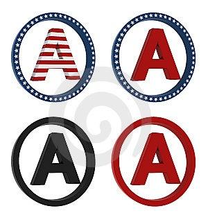 Amero Sign Stock Image - Image: 10290411