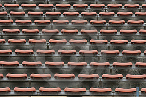 Empty Stadium Seats Stock Images - Image: 10292194