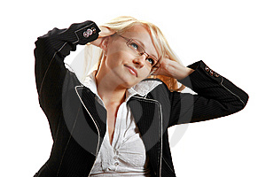A Young Attractive Business Woman Royalty Free Stock Photography - Image: 10297837