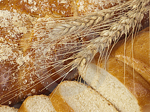 Bread  And Ears Royalty Free Stock Photo - Image: 10298175